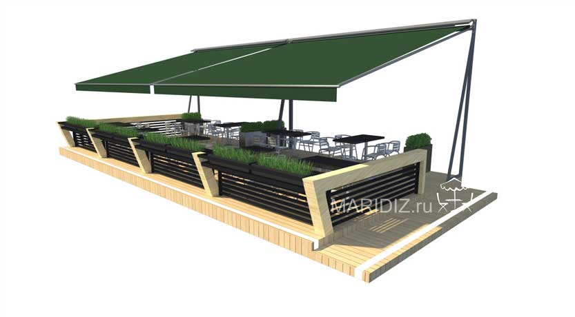 Read more about the article Архитектурно-художественное решение летнего кафе